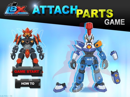 Attach Parts
