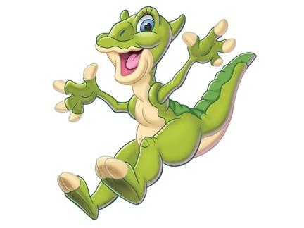 Ducky les personnages images le petit dinosaure - Petit pieds dinosaure ...