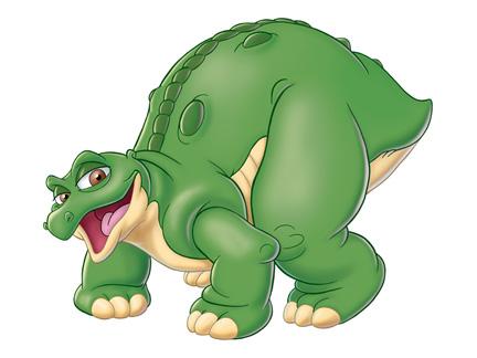 Pointu les personnages images le petit dinosaure dessins anim s la t l - Petit pieds dinosaure ...