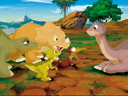 Le petit dinosaure 2 sc nes images le petit - Dinosaure dessin anime disney ...