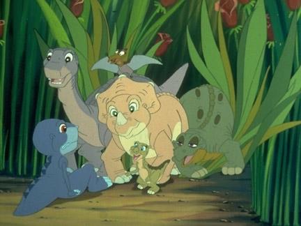 Le petit dinosaure 4 sc nes images le petit dinosaure dessins anim s la t l - Petit pieds dinosaure ...