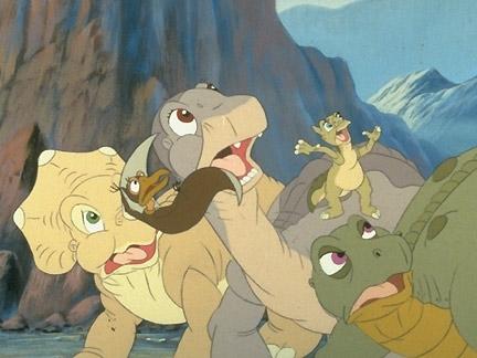 Le petit dinosaure 5 sc nes images le petit dinosaure dessins anim s la t l - Petit pieds dinosaure ...
