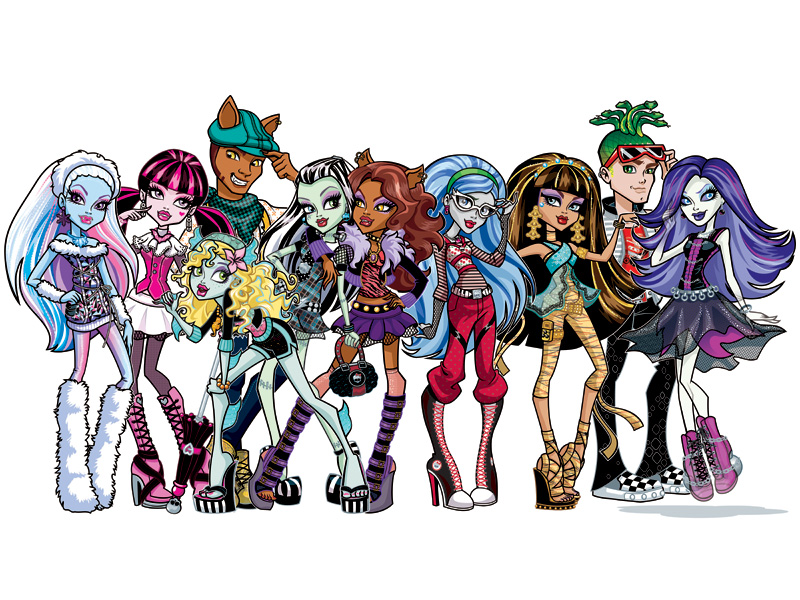 Tes nouveaux meilleurs potes images monster high - Dessins de monster high ...