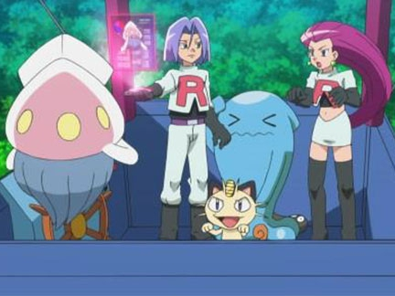 Pokémon, la série : XY - La Team Rocket