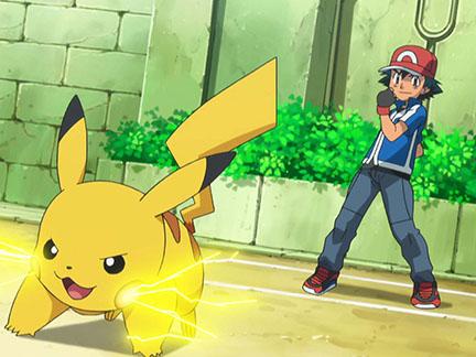 De nouveaux combats sacha et pikachu images pok mon - Pikachu dessin anime ...