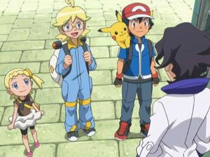 Pokémon, la série : XY - Sacha, Lem et Clem