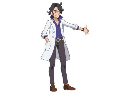 Pokémon, la série : XY - Le Professeur Platane