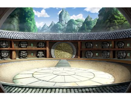 Le monastère de Baoddai