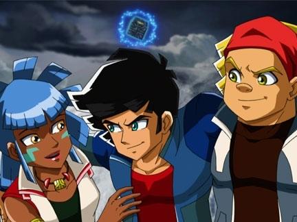 Maya, Ky et Boomer