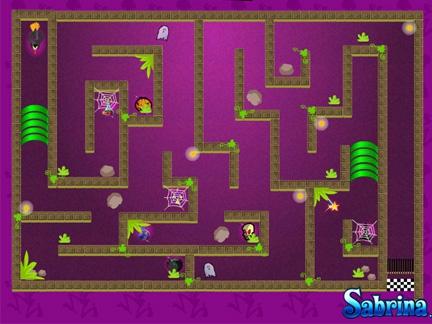 Le labyrinthe de Sabrina
