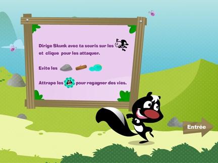 Skunk Battle !