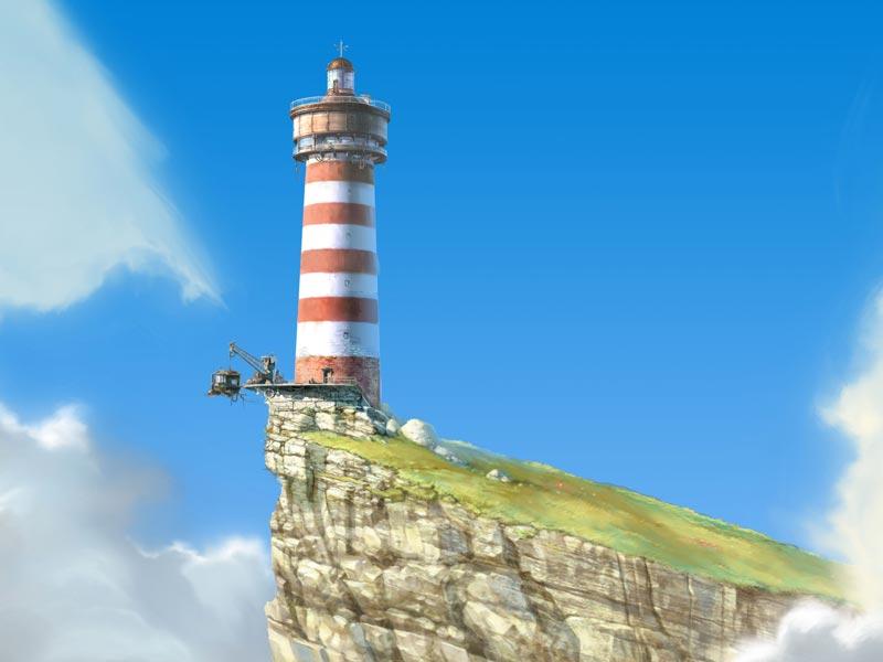 Le voyage improbable par turf delcourt bande dessin e - Dessin de phare ...