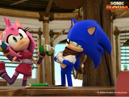 Amy et Sonic