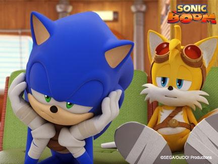 Sonic et tails au bout du rouleau fonds d 39 cran goodies sonic boom dessins anim s la t l - Dessin anime sonic ...