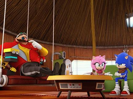 Amy défend le Dr Eggman