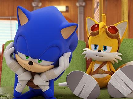Sonic et Tails en manque de sommeil