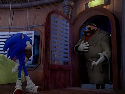 Sonic et Dr Eggman