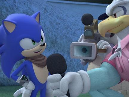 L'interview de Sonic