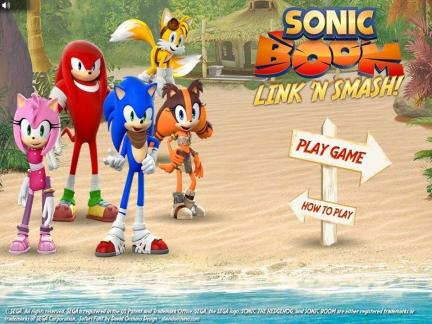 Sonic Boom Link'n'Smash
