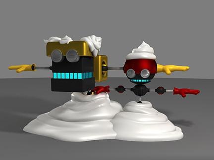Orbot et Cubot