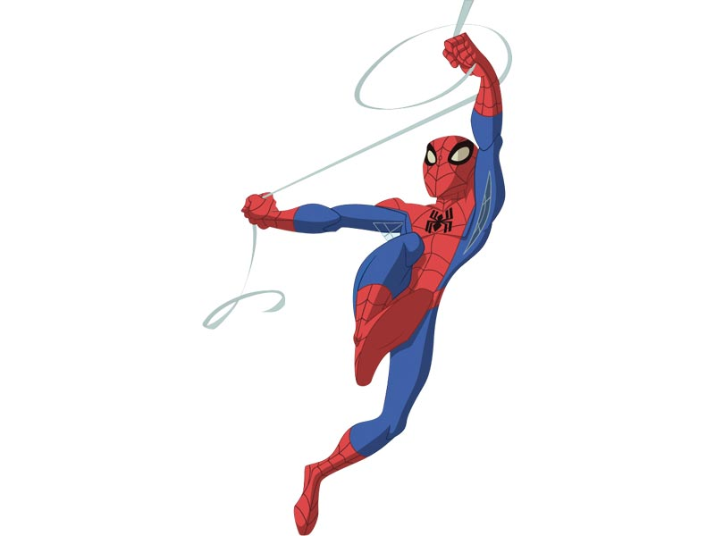 Spiderman spiderman images spectacular spiderman dessins anim s la t l - Coloriage the amazing spider man ...