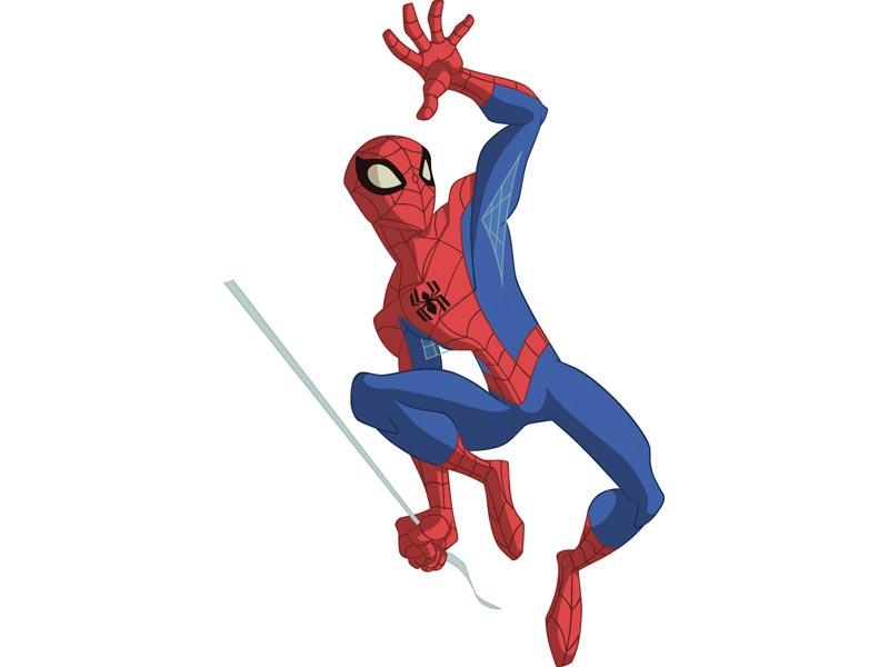 spiderman envoyer un ami zoomer