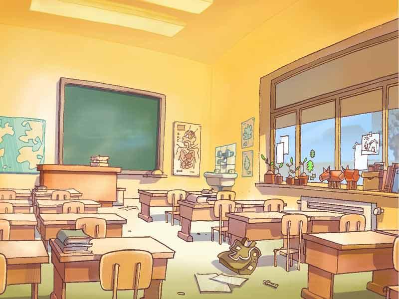la salle de classe de titeuf d cors saison 2 images titeuf dessins anim s la t l. Black Bedroom Furniture Sets. Home Design Ideas