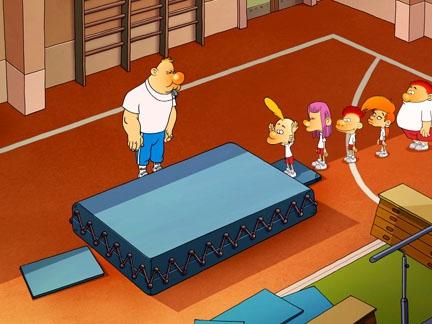 Le cours de gym