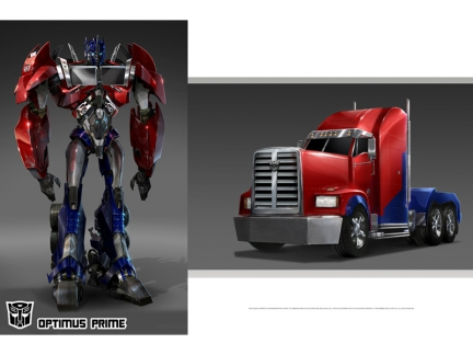Optimus prime personnages transformers prime dessins anim s la t l - Dessin optimus prime ...
