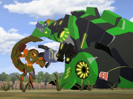 Transformers Robots in Disguise Saison 2 sur Canal J
