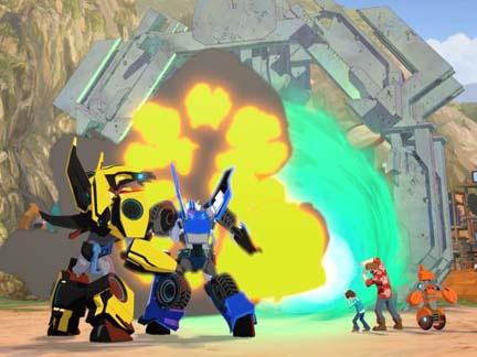 Transformers Robots in Disguise Saison 2 sur Canal J