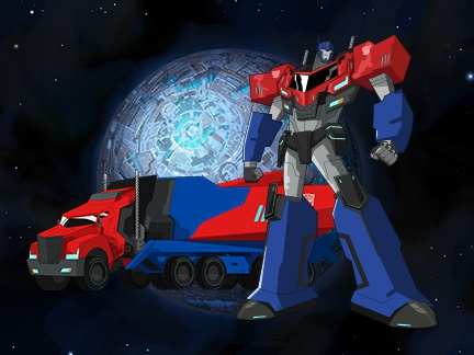 Autobots personnages transformers robots in disguise dessins anim s la t l - Dessin optimus prime ...