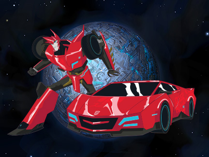 Sideswipe autobots personnages transformers robots - Dessin anime transformers ...