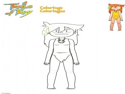 Coloriage Waha