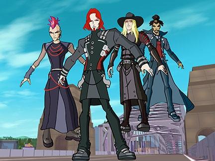 Les chasseurs de f es en action de nouveaux ennemis images winx club dessins anim s la - Dessin anime des winx club ...