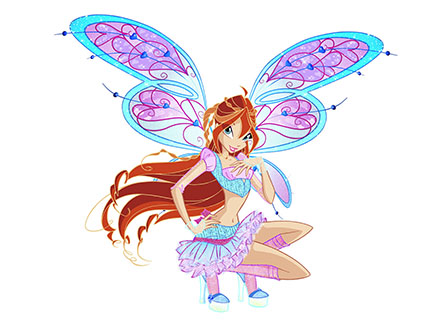 Bloom personnages winx club dessins anim s la t l - Bloom dessin anime ...