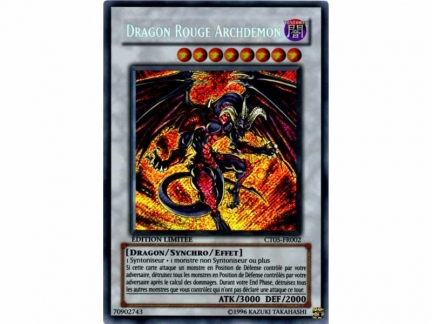 Dragon Rouge Archdémon