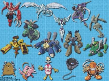 Yu-Gi-Oh 5D - Les Monstres de Yusei