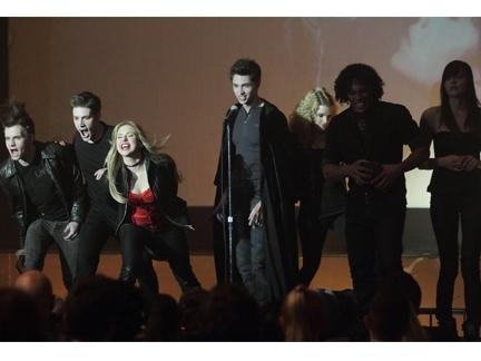 Les vampires sur la scène