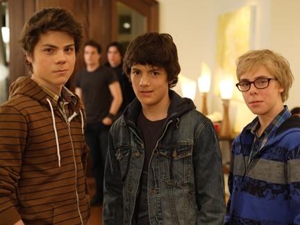 Trio de garçons