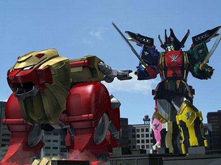 Power Rangers Super Megaforce - De nouvelles armures