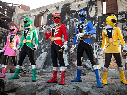 Power Rangers Super Megaforce - De nouvelles aventures