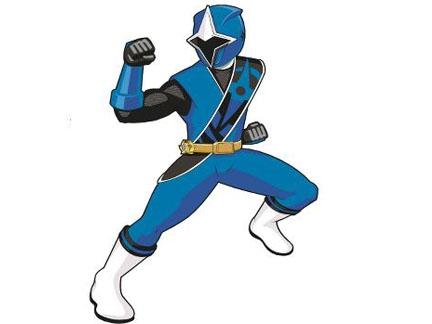 Le Ranger bleu