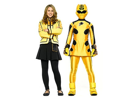 Ranger jaune lily personnages jungle fury - Power rangers megaforce jungle fury ...