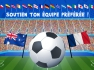 jeux foot coupe du monde france australie