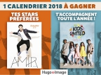 Calendrier star 2018 !