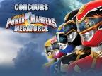 PowerRangers MegaForce, Jeu Concours, Canal J