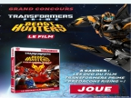 Transformers Prime, Canal J, Jeu Concours