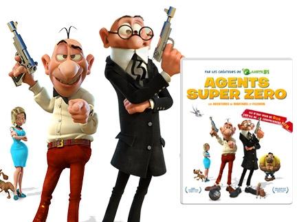 DVD Agents Super Zéro