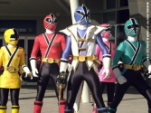DVD Power Rangers Super Samurai : Une nouvelle menace